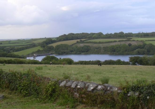 Argal Reservoir, Mabe, Cornwall