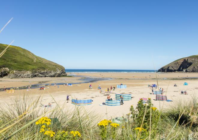 Mawgan Porth, Newquay, North Cornwall