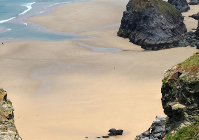 Beaches near Newquay | Bedruthan Steps Beach | Cornwall c Jason Flint