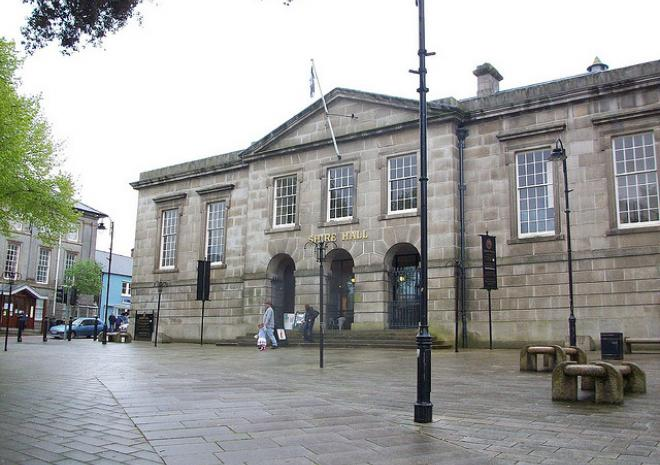Shire Hall, Bodmin, Cornwall