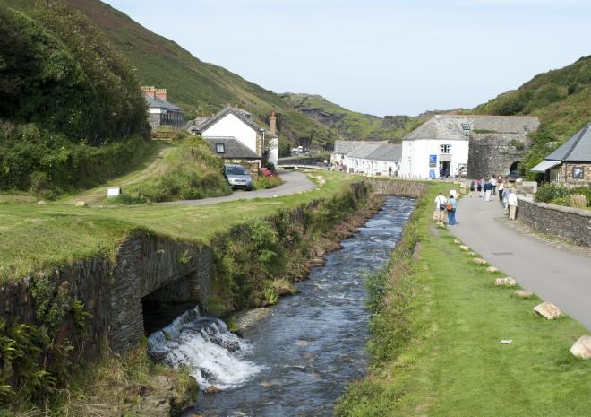 Boscastle, North Cornwall c Adam Gibbard