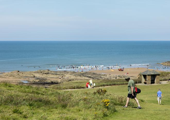 Bude, North Cornwall, Beach,