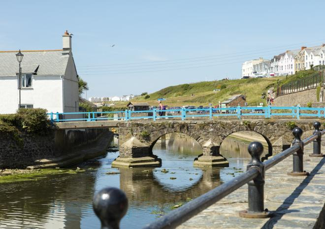 Bude, North Cornwall, Town