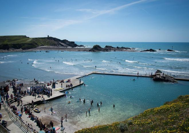 Bude Sea Pool, Cornwall, c FoBSP Rob Kier