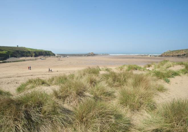 Bude, North Cornwall, Beach