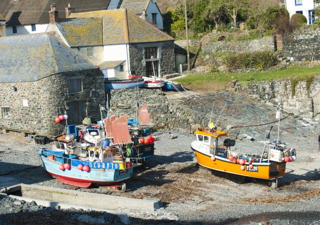 Cadgwith, West Cornwall c Visit Cornwall / Adam Gibbard