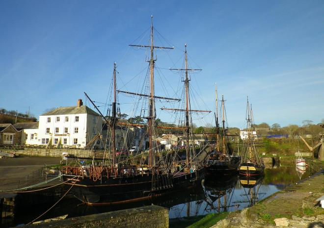 Charlestown, St Austell, South Cornwall