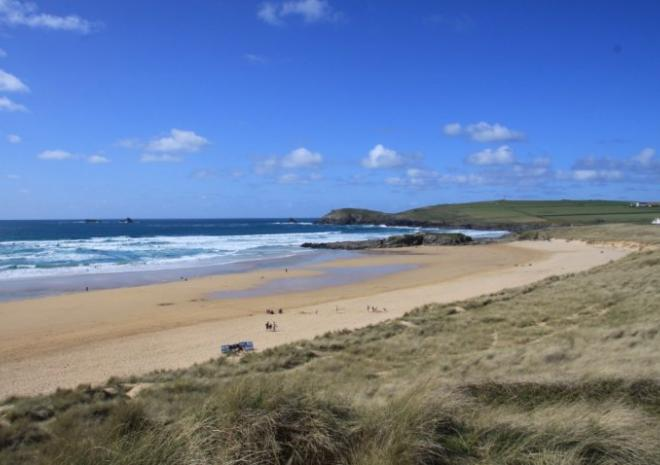 Constantine Bay Beach, Padstow, Cornwall c Jess Brown