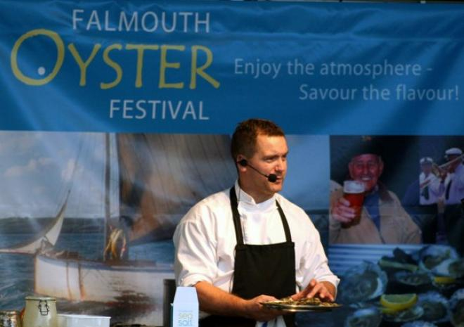 Falmouth Oyster Festival, Cornwall