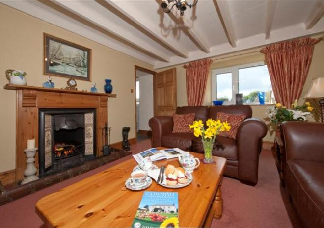 Downs Barn Farm, Bed and Breakfast, St Buryan, West Cornwall