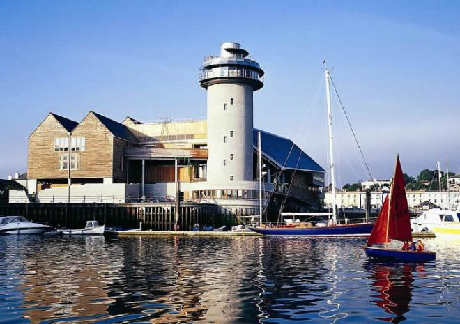 National Maritime Museum, Falmouth, South Cornwall