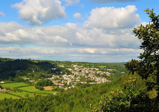 Gunnislake, Tamar Valley, Cornwall c David Price