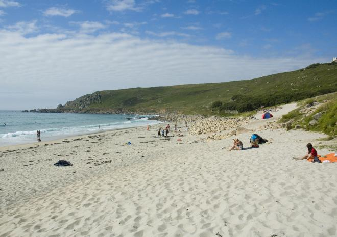 Gwenver Beach, Sennen, West Cornwall c Adam Gibbard