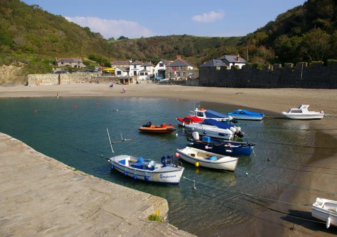 Caravan holiday park Cornwall, Polkerris Holidays Beside theSea, St Austell , Fowey, Cornwall