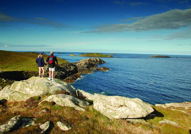 Walking on the Isles of Scilly