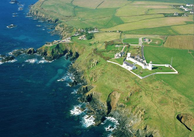 Lizard Point and Lighthouse, Cornwall c John Such