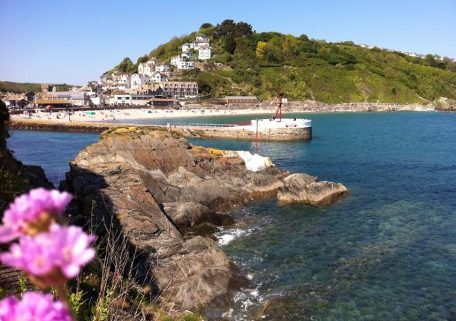 Looe in South East Cornwall