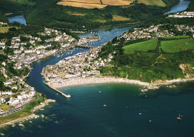 Looe, South East Cornwall c John Such