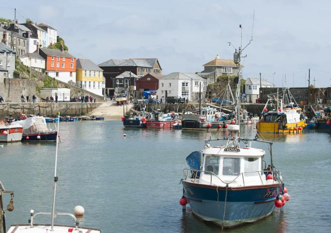 Mevagissey, South Cornwall