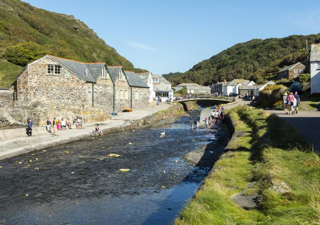 Boscastle, North Cornwall
