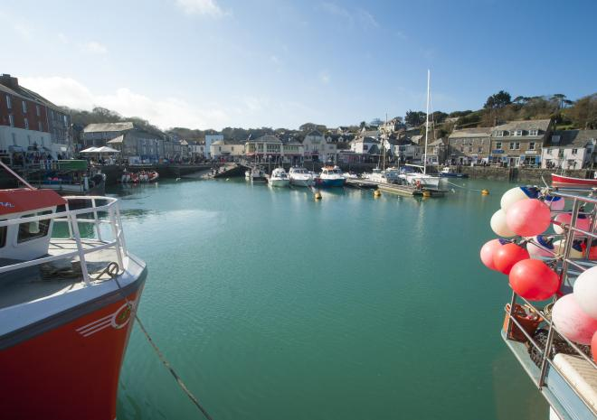 Padstow Harbour, North Cornwall
