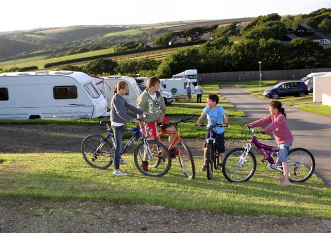 Pentire Haven Holiday Park, Bude, North Cornwall