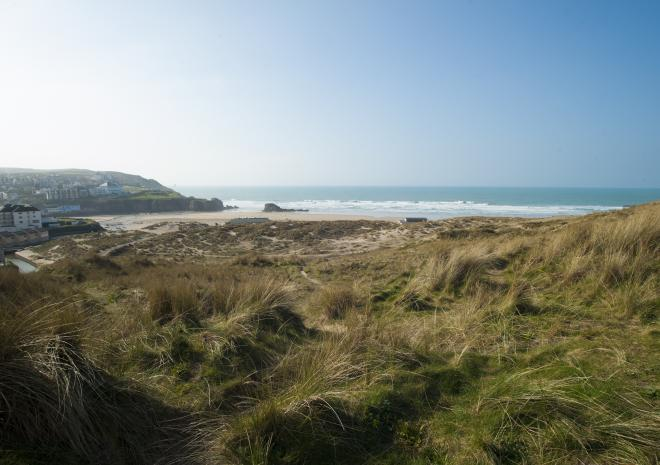 Perranporth in North Cornwall c Visit Cornwall / Adam Gibbard