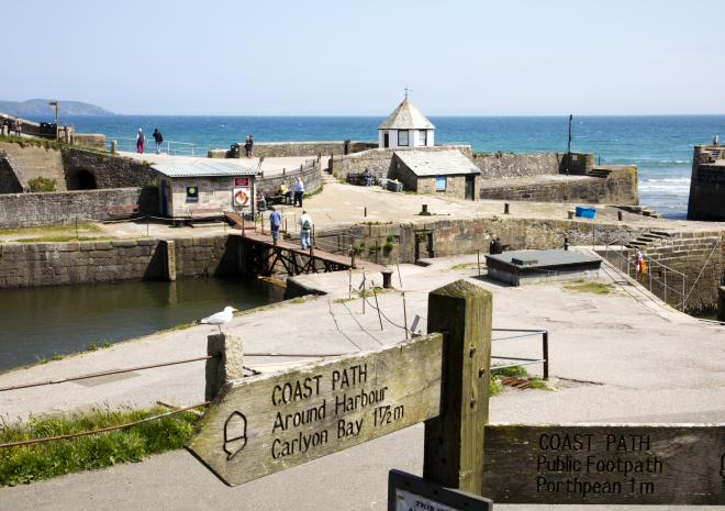 Charlestown, St Austell, South Cornwall, Poldark