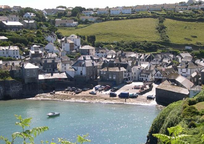 Port Isaac in North Cornwall, CCL