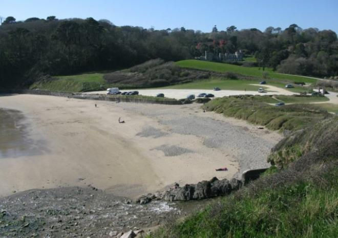Porthluney Cove Beach | Caerhays | St Austell |  Cornwall c James Penman