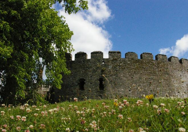 Restormel Castle | Lostwithiel Cornwall | English Heritage c Christopher Hilton via Geograph