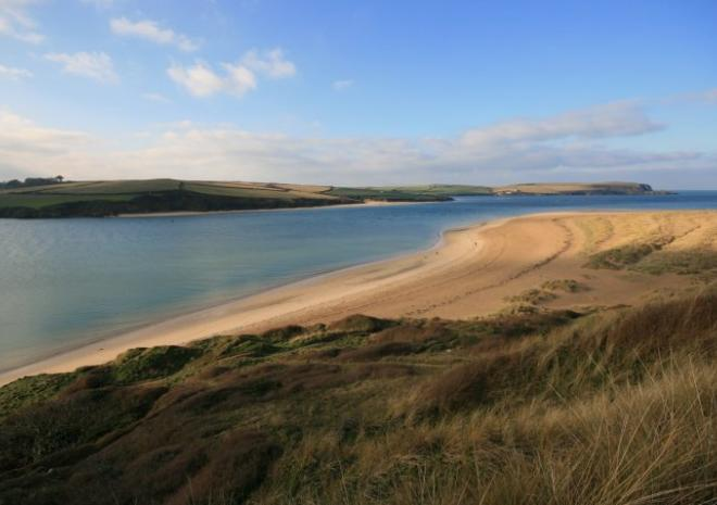 Beaches in Cornwall | Rock Beach | Camel Estuary c James Penman