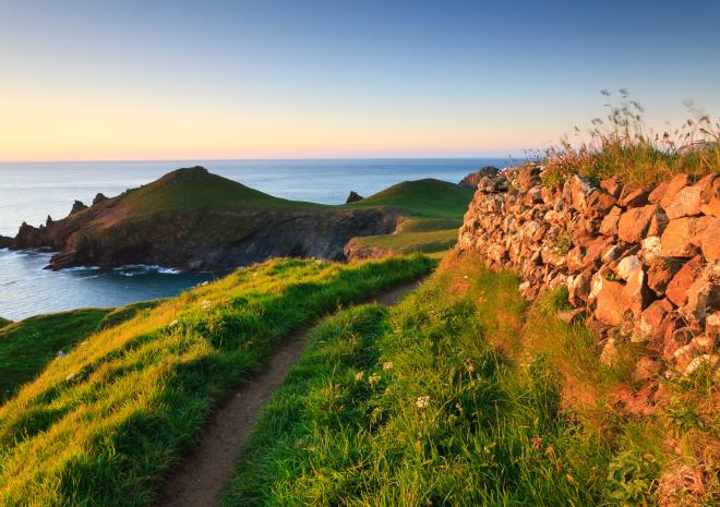 Rumps Point, North Cornwall c Shutterstock