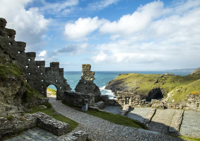 Tintagel, Castle, North Cornwall