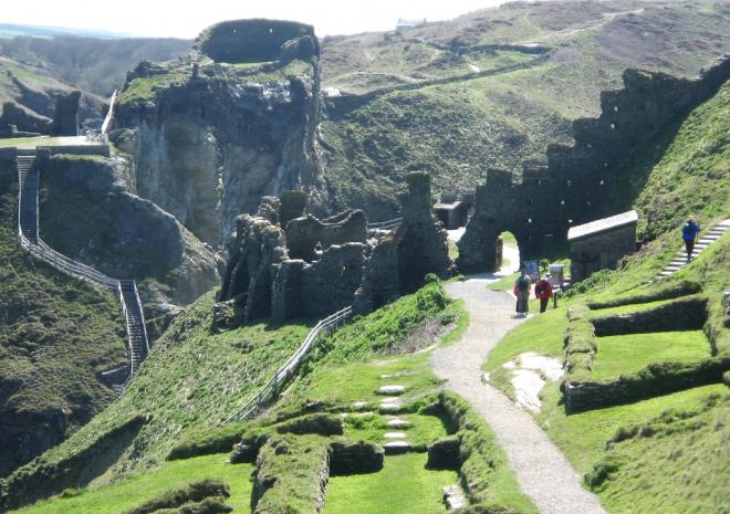 Tintagel, North Cornwall