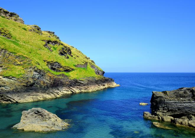 Tintagel, North Cornwall, c Shutterstock