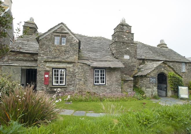 Old Post Office, Tintagel, North Cornwall c  Adam Gibbard