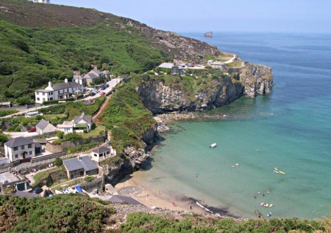 Trevaunance Cove, St Agnes, Cornwall