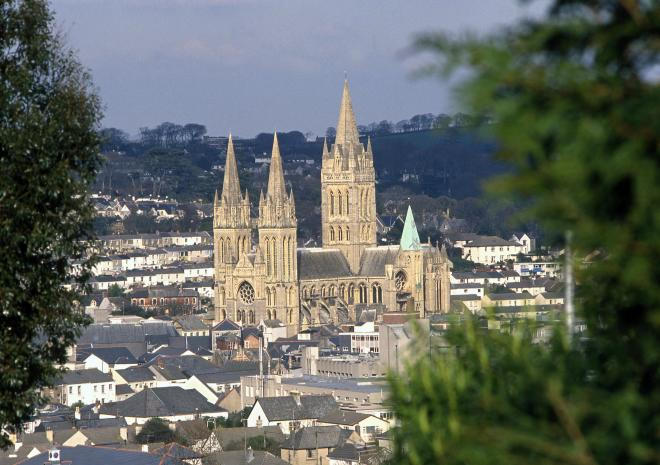 Truro Cathedral, Cornwall c Trevor Burrows