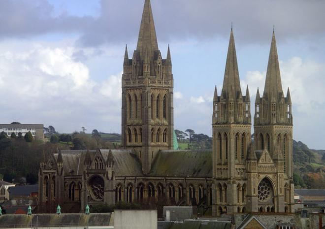 Truro Cathedral, Cornwall c Tracey Maclean