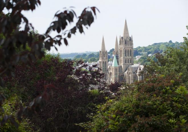 Truro Cathedral, Copyright Adam GIbbard, Cornwall