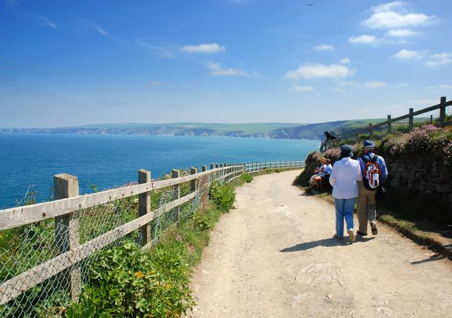 Coast Path near Port Isaac c Shutterstock
