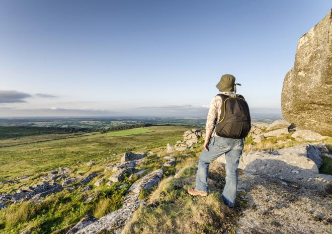 Walking on Bodmin Moor c Shutterstock