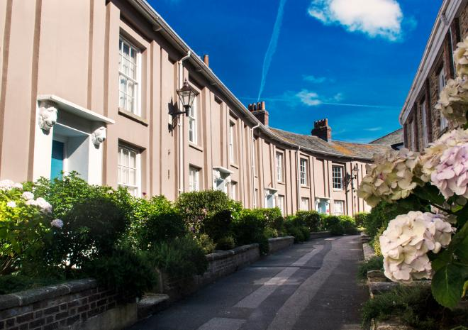 Walsingham Place, Truro, Cornwall