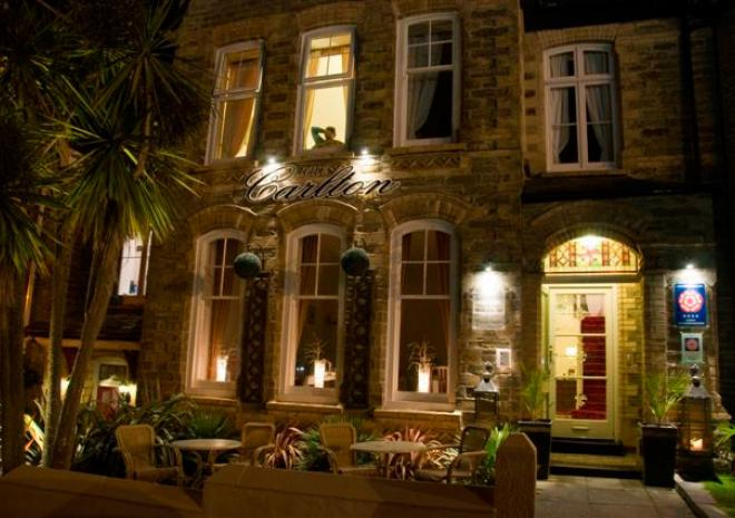 The Carlton, Bed and Breakfast, Newquay, Cornwall