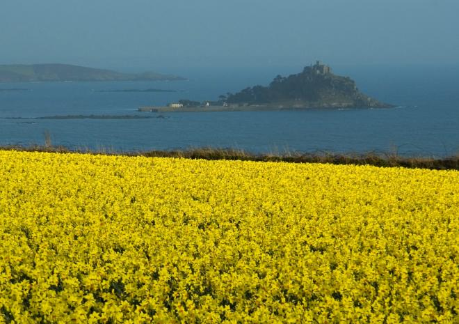 St Michael's Mount, Mounts Bay, West Cornwall c Visit Cornwall / Adam Gibbard