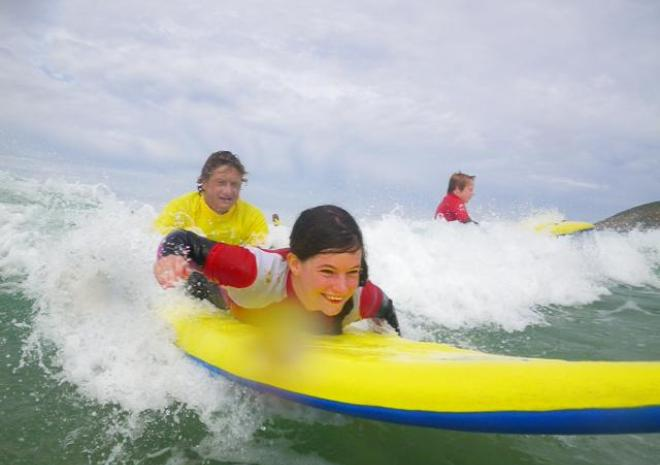 Kingsurf Surf School, Mawgan Porth, North Cornwall