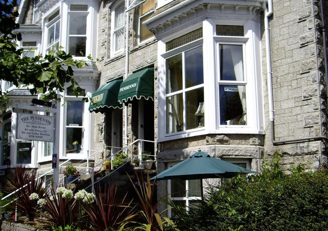 The Pendennis, Bed and Breakfast, Penzance, West Cornwall
