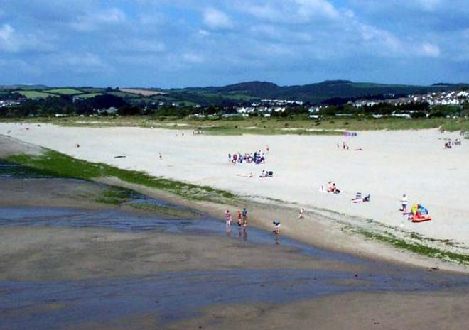 Par Sands Beach, St Austell, Cornwall