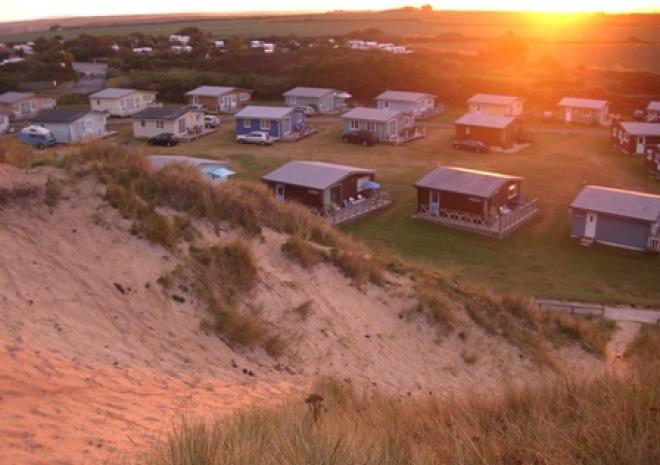 Sunnyside, Self-Catering Chalet, Hayle, West Cornwall